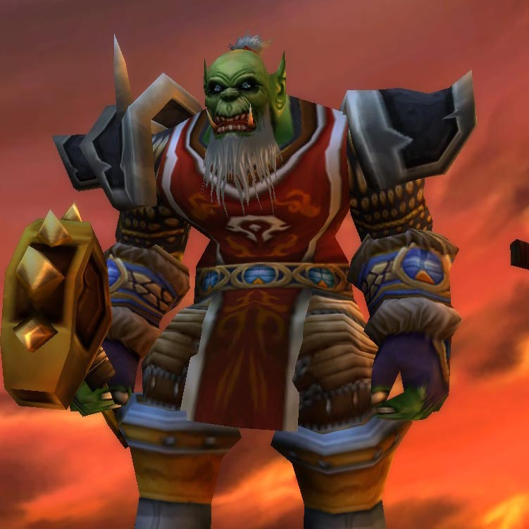 Orc Male Shaman Level 54 Northdale Lights Hope Classic Wow