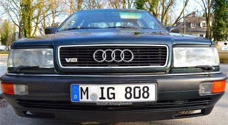 Audi V8 Frontansicht