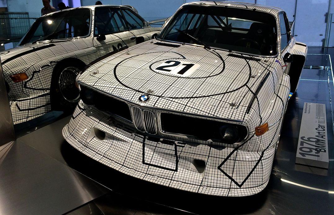 BMW Art Car - als Grundlage diente der 3.0 CSi