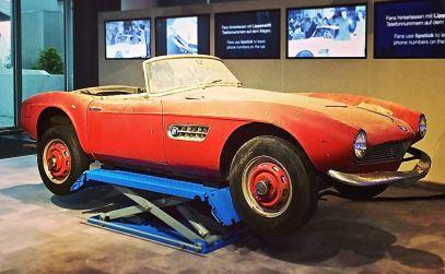 Der originale BMW 507 (1957) von Elvis Presley wird nun in München restauriert
