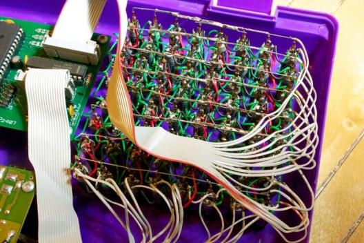 Prototype matrix wiring
