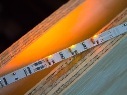 LED strip test