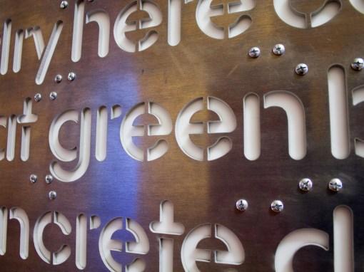 Word Wall - green