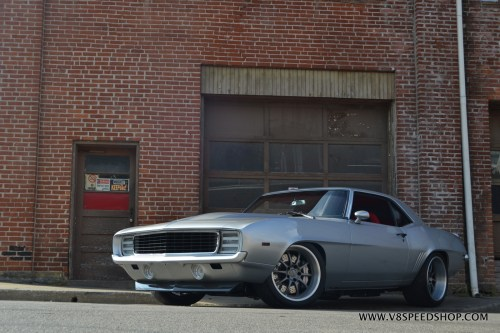 small resolution of 1969 chevrolet camaro transforms from big block to supercharged lt4 v8 at v8 speed resto shop