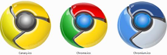 Chrome图标实例
