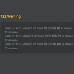 Nutanix: vmnic down warnings after vSphere 6.0 upgrade