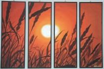 Tramonto di grano - 2008 (venduto)