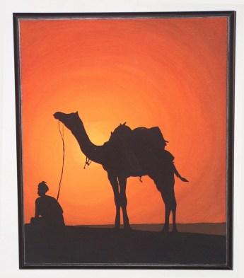 Tramonto nel deserto - 2008 (venduto)