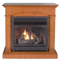 Ventless Fireplace System with Dual Fuel Technology ...