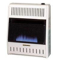 Dual Fuel Blue Flame Ventless Wall Heater - 20,000 BTU ...