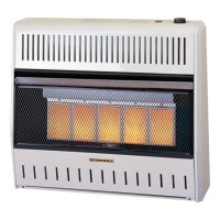 Ventless Infrared Wall Heater MD5TPA Series - ProCom Heating
