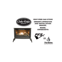Cedar Ridge Hearth Ventless Gas Stove Model# CRHQD250TA ...