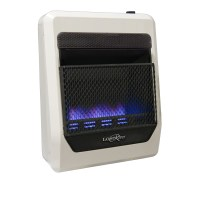 Lost River Dual Fuel Ventless Blue Flame Gas Space Heater ...