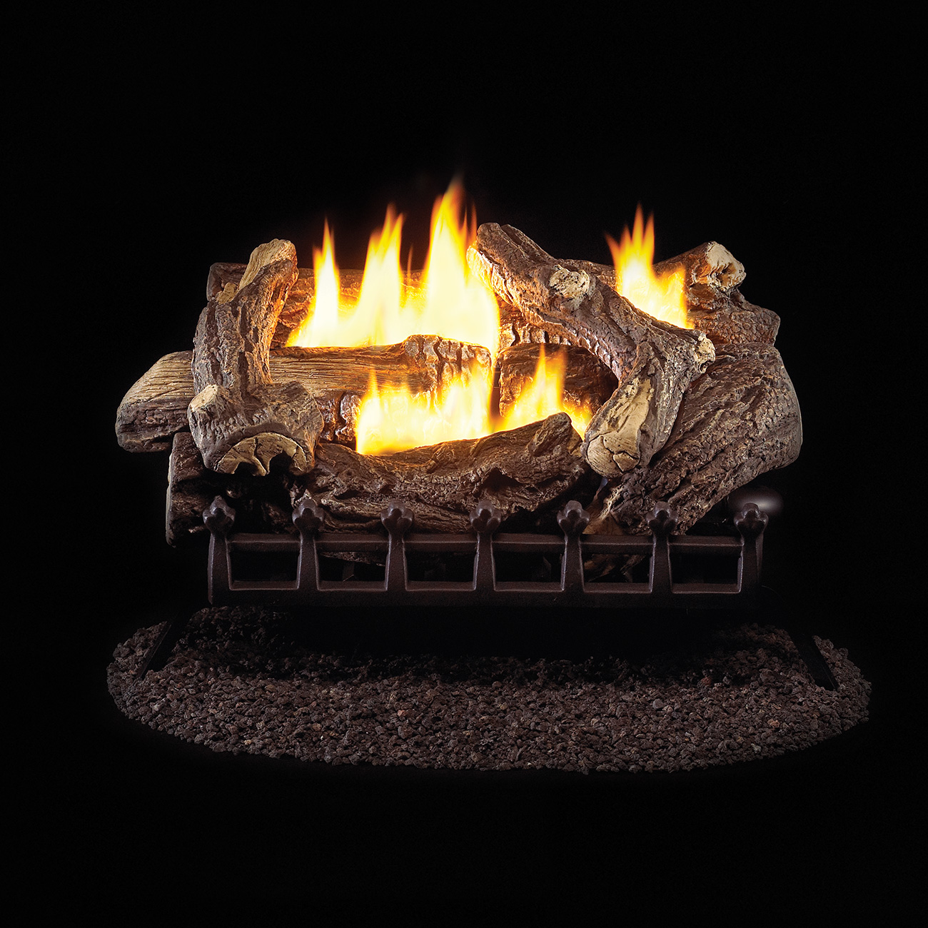 24 Ventless Natural Gas Log Set