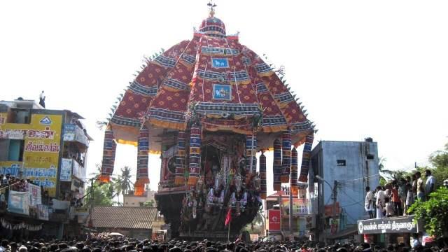 thiruvarur temple car