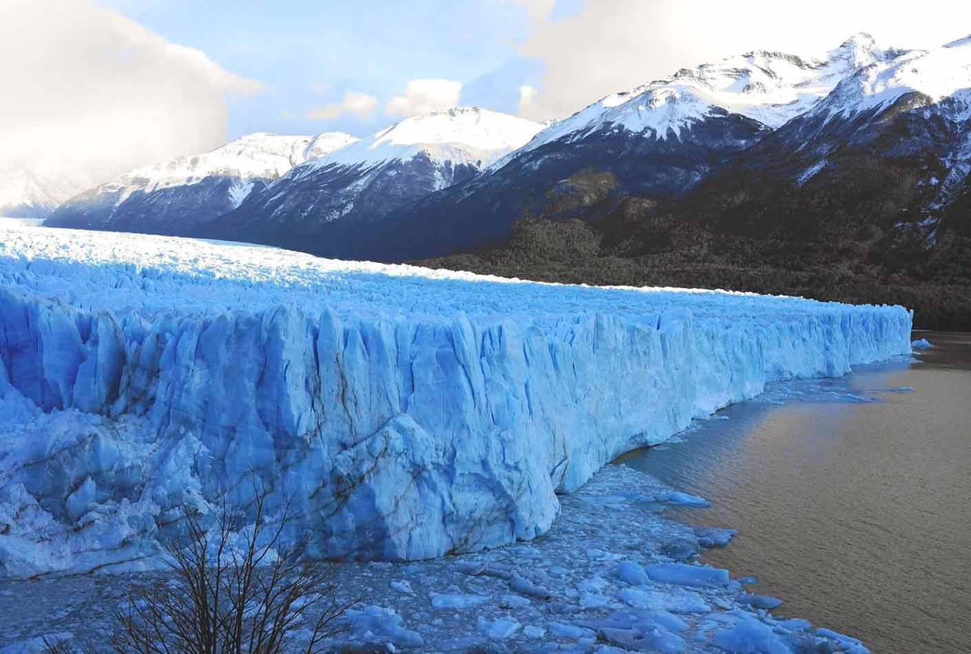 Perito Moreno en Calafate, Argentina