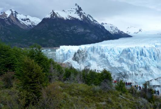 Glaciar Perito Moreno en Calafate, Argentina