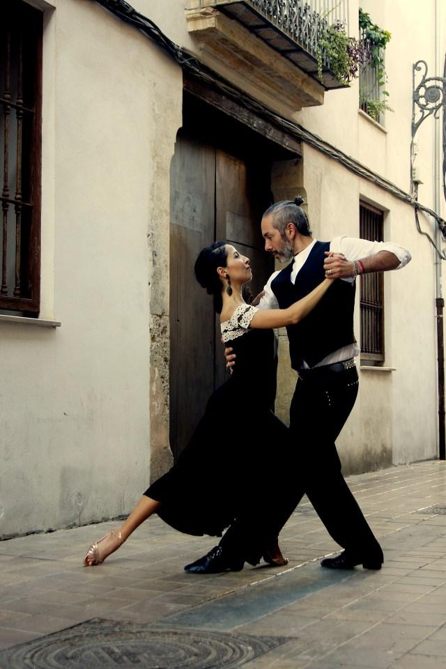 Ver un show de tango