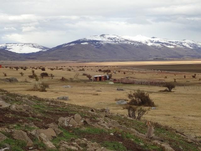 Paisaje Patagonia El Calafate