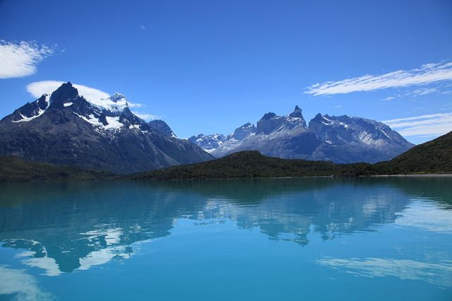 Lago Pehoé, Chile