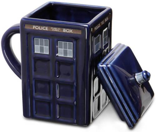 Taza Tardis de Doctor Who