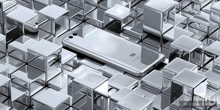 Xiaomi Mi 6 plateado