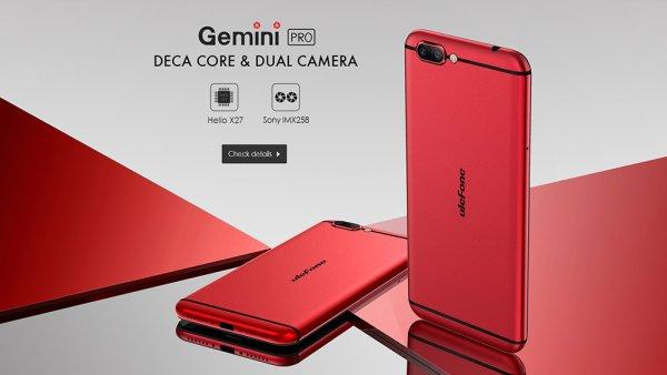 Ulefone Gemini Pro: nuevo buque insignia