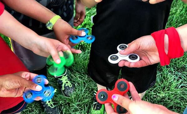 Fidget spinner, el juguete de moda