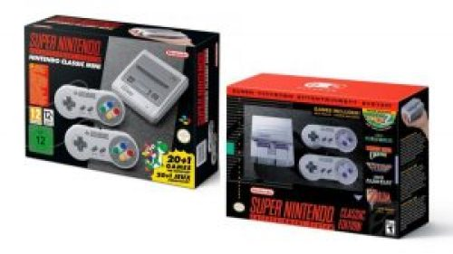 Super NES Classic Edition tendrá versión Super Famicom
