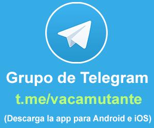 grupo de telegram de Vaca Mutante