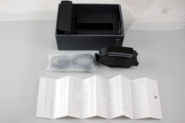contenidos del paquete de la amazfit arc