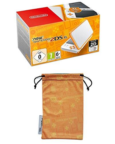 New Nintendo 2DS XL (blanco y naranja)