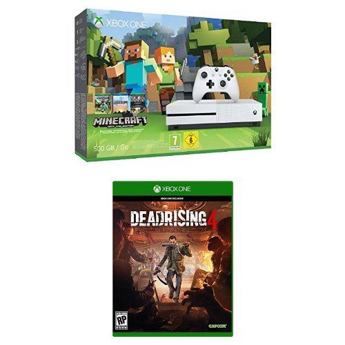 Xbox One - Pack Consola S 500 GB: Minecraft + Dead Rising 4