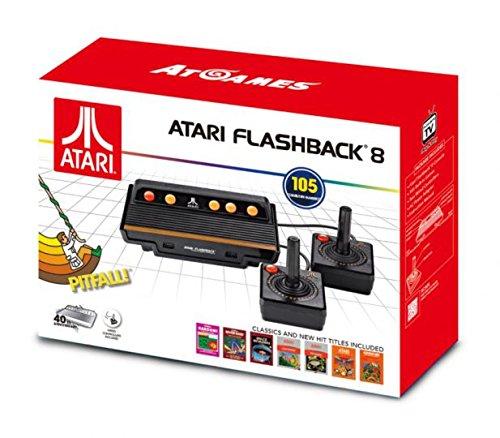 AT-Games - Consola Retro Atari Flashback 8 (105 Juegos)