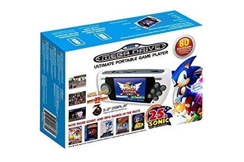 AT-Games - Consola Retro Mega Drive Portátil, Edición Sonic 25 Aniversario