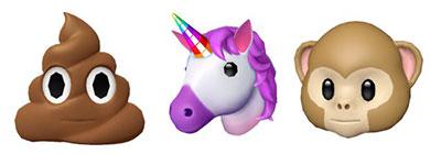 nuevos emoji 3d de apple
