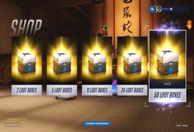 Lootboxes y el futuro de los micropagos en videojuegos