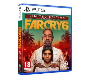 Comprar Far Cry 6 edición limitada PS5
