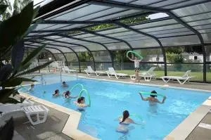 Animation piscine camping Alsace