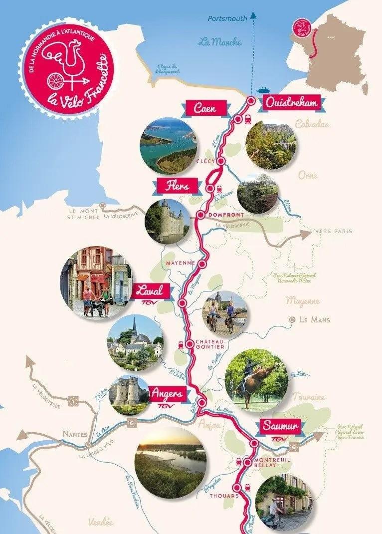 Vacances A Velo Seasonova Campings Normandie Bretagne Pays De La Loire Et Alsace