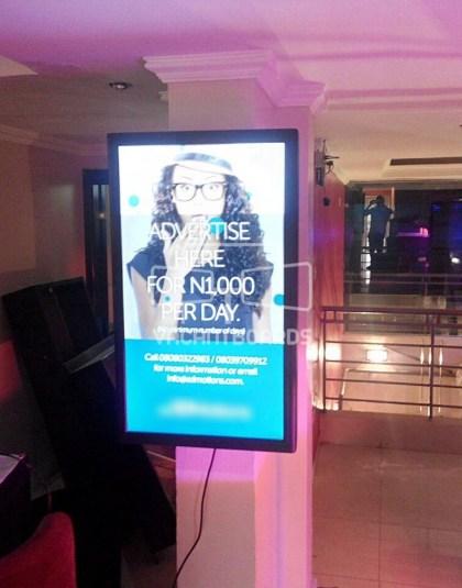 Digital Screen SS Lounge, Idowu Taylor