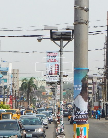 Lamp Posts, Opebi Road, Lagos