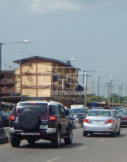 Lamp post, Wemco Road Ogba, Ikeja, Lagos