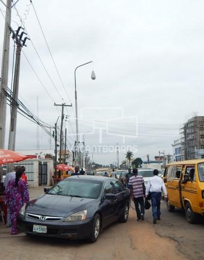 Lamp Post, Oba Akran, Ikeja, Lagos