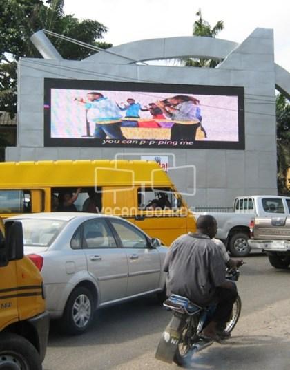LED Billboard, Apapa Point Road, Lagos