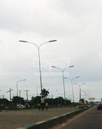 Lamp Post - Dsc Express Warri, Delta