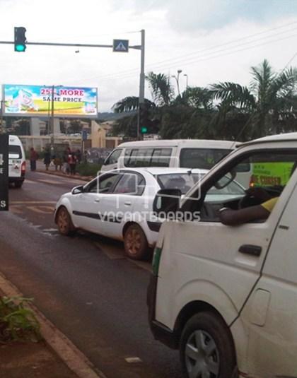 2 Sided Unipole - The Palms Gate, Enugu