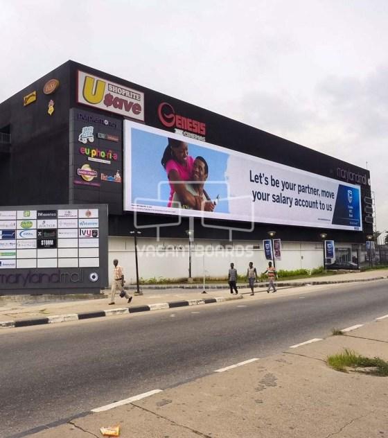 Maryland Mall LED Billboard, Lagos