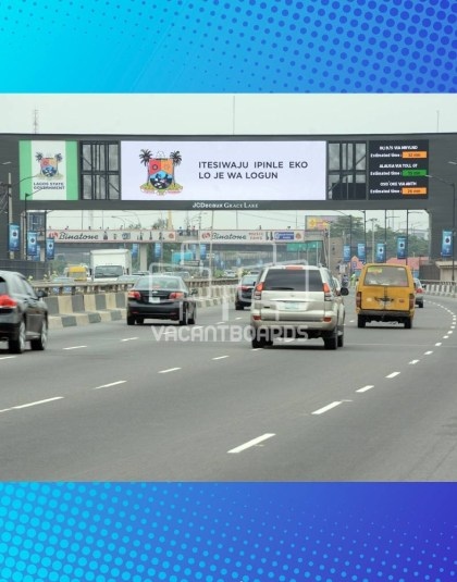 LED Gantry Billboard – Third Mainland Bridge, Lagos