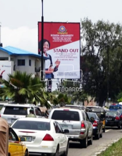 Portrait Billboard - Ahmadu Bello Way, Victoria Island